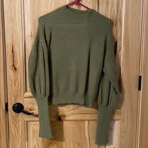 Current Air green sweater